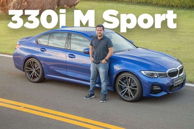 BMW Série 3 330i (Foto: Marcos Camargo/Autoesporte)