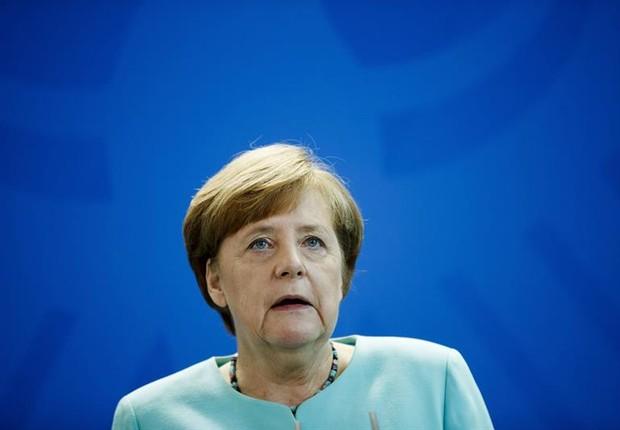 A chanceler alemã Angela Merkel (Foto: Carsten Koall/EFE)