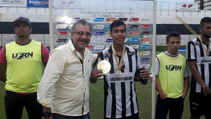 ABC vence o Alecrim e conquista Metropolitano de Futebol União - Kaká, meia (Foto: Andrei Torres/ABC FC/Divulgação)