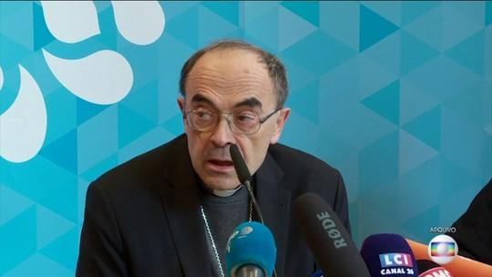 Papa rejeita renúncia de cardeal francês condenado por não denunciar abusos sexuais