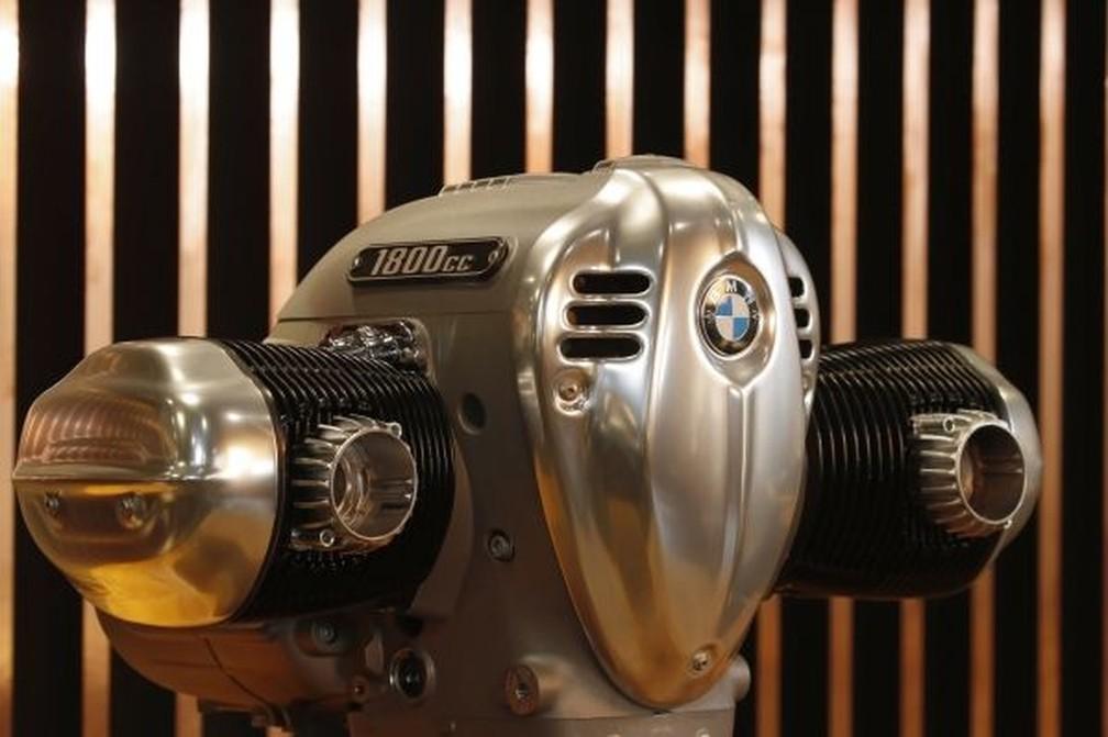 Motor boxer 1.8 litro equipará a futura moto — Foto: BMW/Divulgação