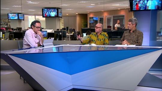 """Comentaristas analisam vaias a Valentim, do Vasco: """"Time vira vítima do próprio sucesso"""""""