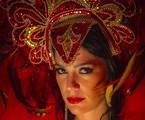 Natália Lage caracterizada para 'Tapas & beijos' | Alex Carvalho/TV Globo