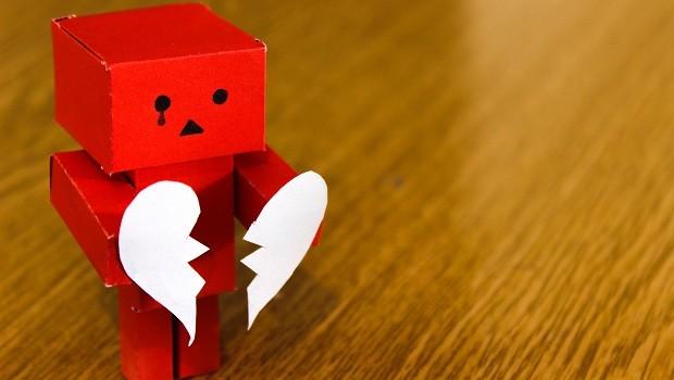 Coração partido; decepção; tristeza (Foto: Pexels)
