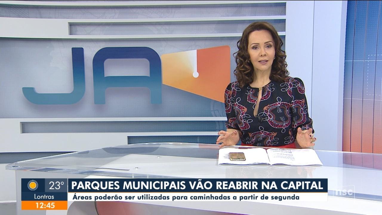 Parques municipais de Florianópolis serão reabertos para caminhadas
