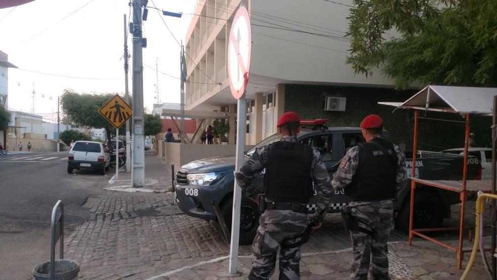 Operação Tubérculo foi deflagrada nesta terça-feira (14) em Caicó, na região Seridó potiguar (Foto: MP/Divulgação)