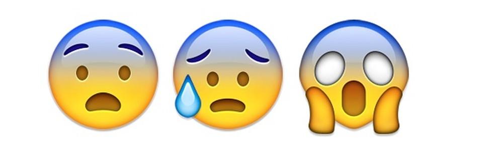Emojis para expressar aquele susto — Foto: Reprodução/TechTudo