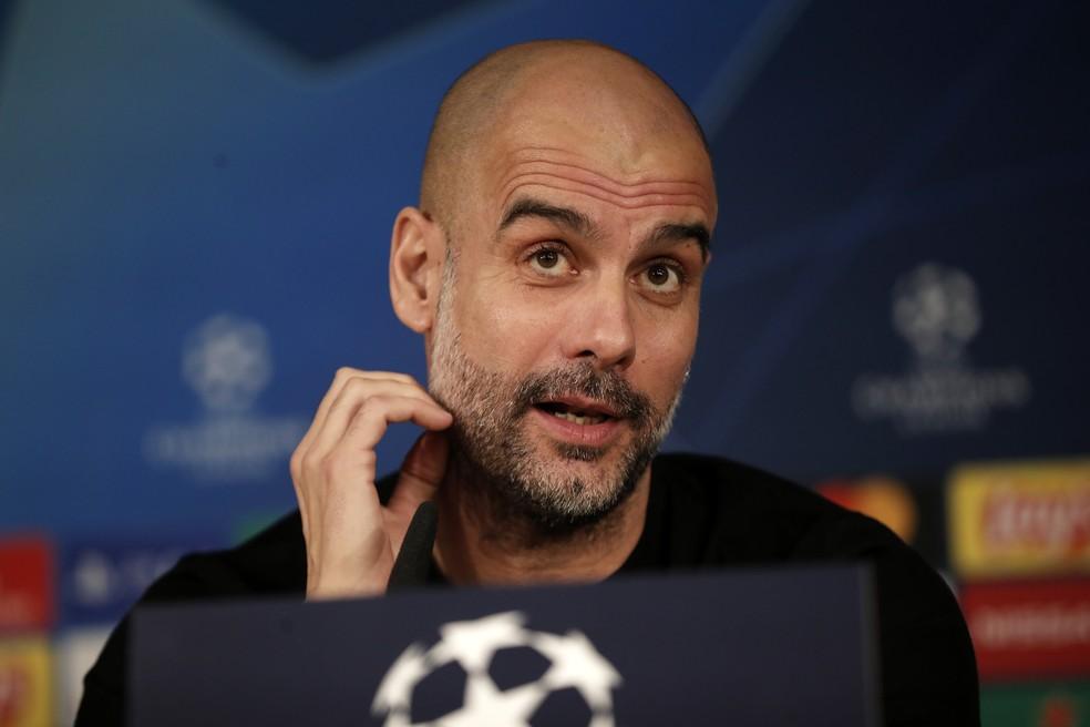 City de Guardiola pode ficar fora das próximas Liga dos Campeões — Foto: Getty Images