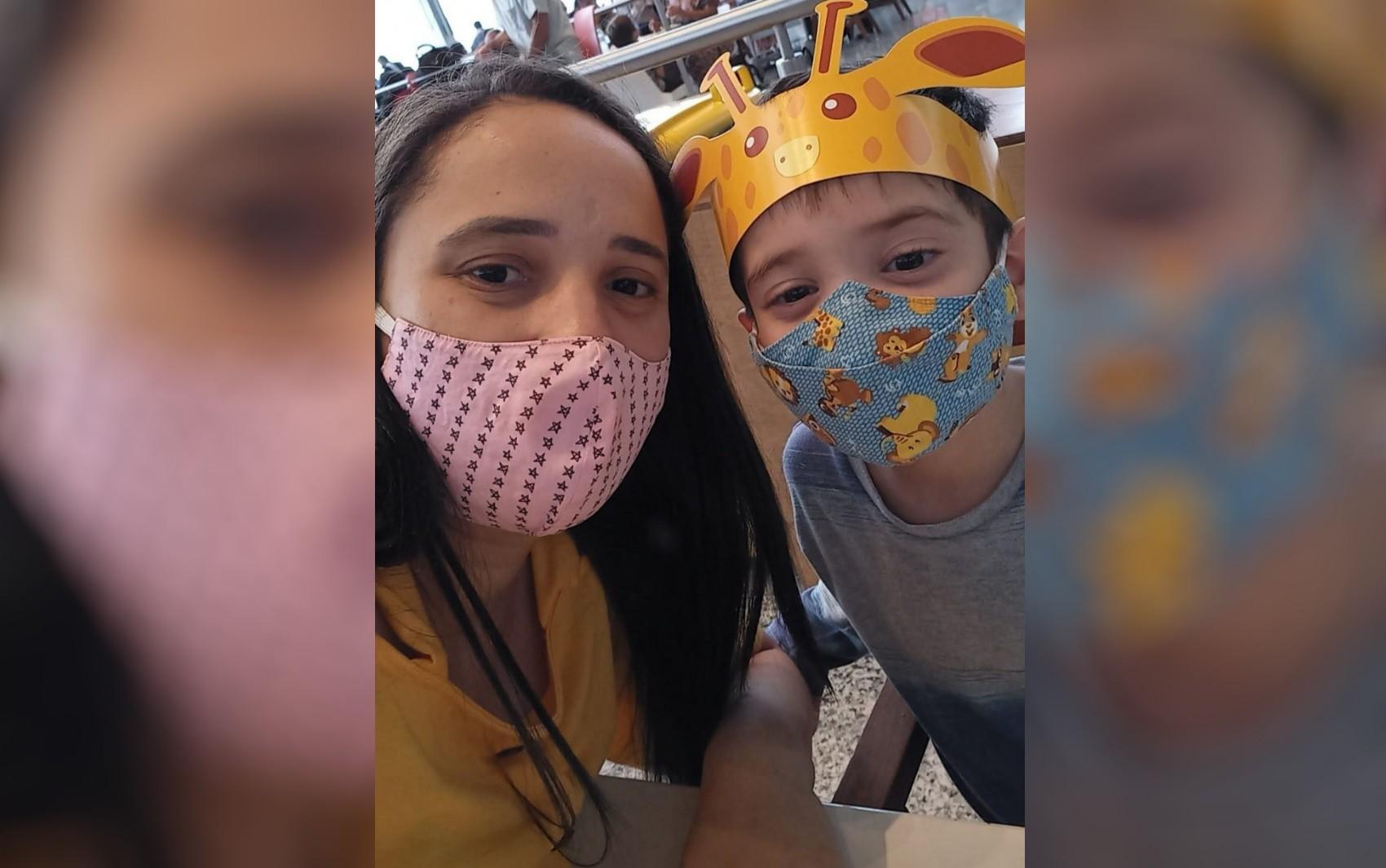 Mãe comemora transplante de rim do filho, mas precisa de ajuda para seguir com tratamento, em Anápolis