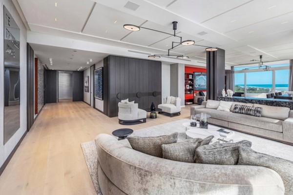 O apartamento de R$ 54 milhões em Miami comprado por Kanye West para Kim Kardashian em dezembro de 2018 e devolvido em fevereiro de 2019 (Foto: Divulgação)