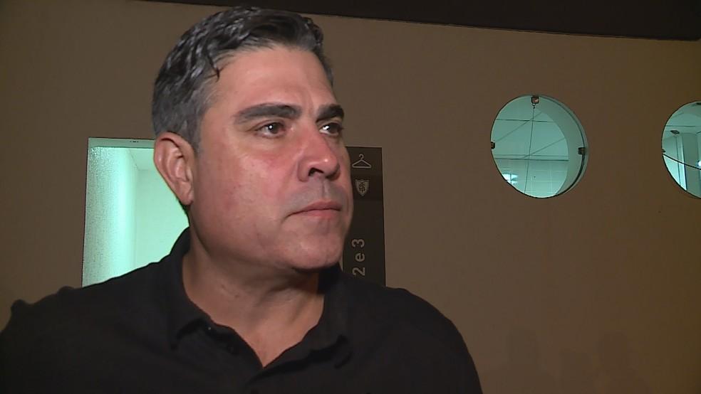 Sérgio Sette Câmara, atual presidente do Atlético — Foto: Reprodução/TV Globo