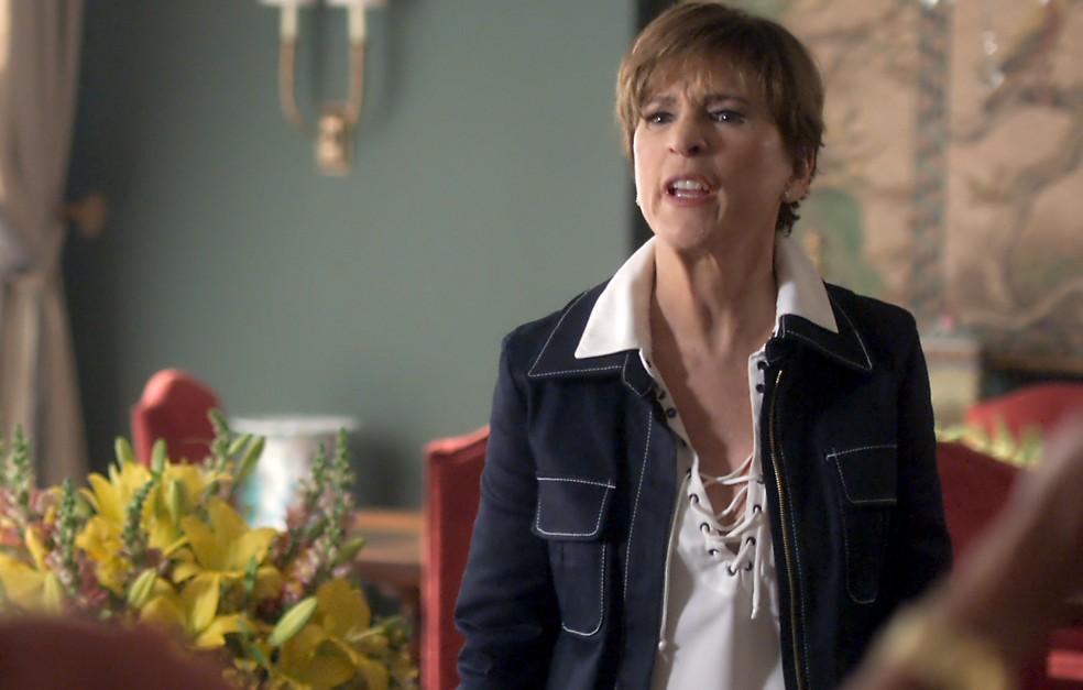 Kiki diz à Cora que foi até a casa dela para desabafar (Foto: TV Globo)