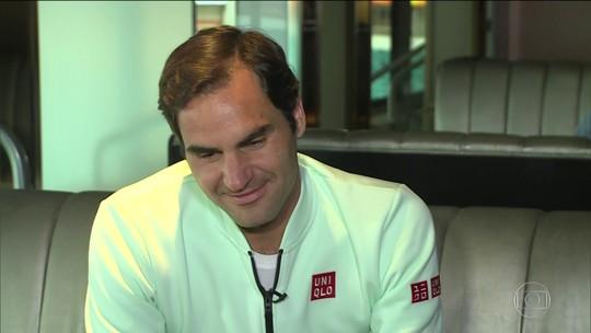 Esporte Espetacular tem entrevista exclusiva com Roger Federer
