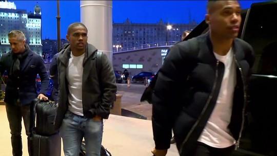 Oito jogadores da Seleção chegam a Moscou para amistoso contra a Rússia