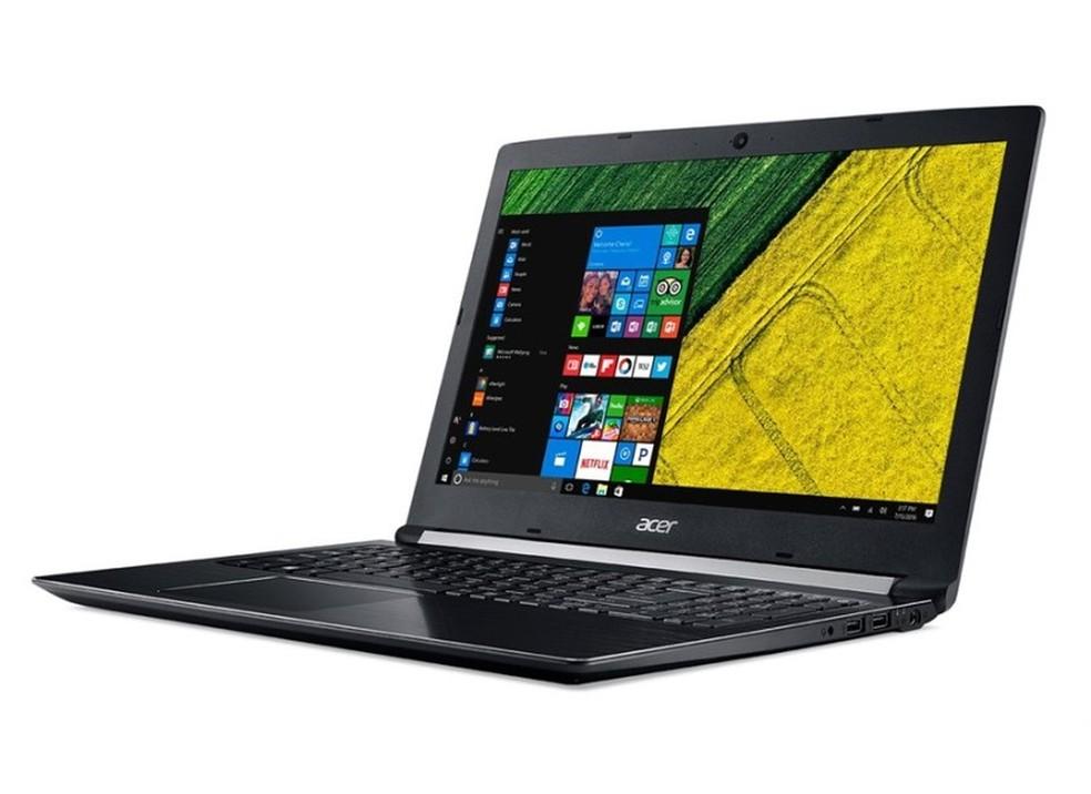 Acer Aspire 5 A515-51 é um dos notebooks mais procurados no Brasil — Foto: Divulgação/Acer