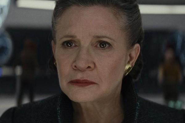 Carrie Fisher como General Leia em Star Wars: Os Últimos Jedi (2017) (Foto: Divulgação)