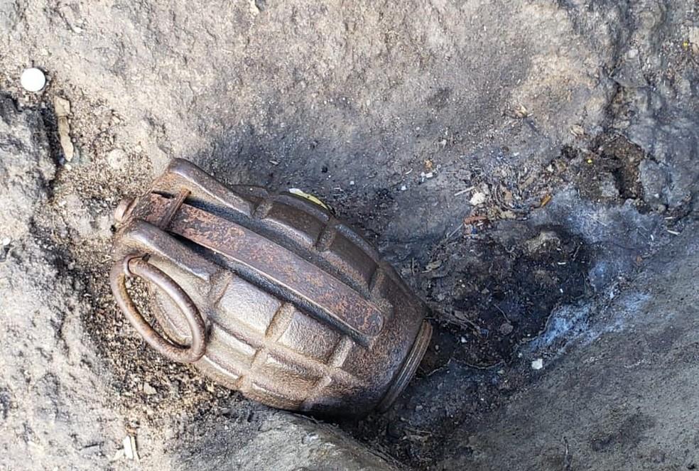 Gate foi acionado para retirar suposto artefato no Centro de Campinas — Foto: Guarda de Campinas