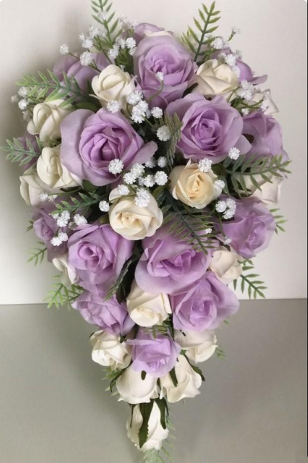 Buquê de flores em cascata (Foto: Pinterest/Reprodução)