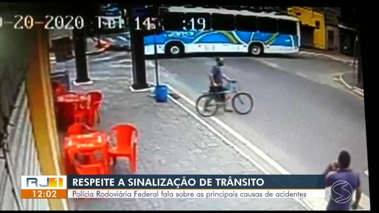 Polícia Rodoviária Federal fala sobre as principais causas de acidentes de trânsito