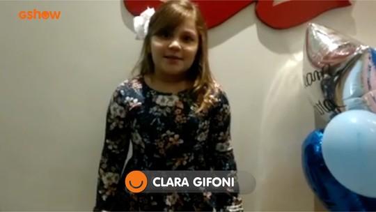 Clara Gifoni está na final e tem apoio de torcida até fora do Brasil