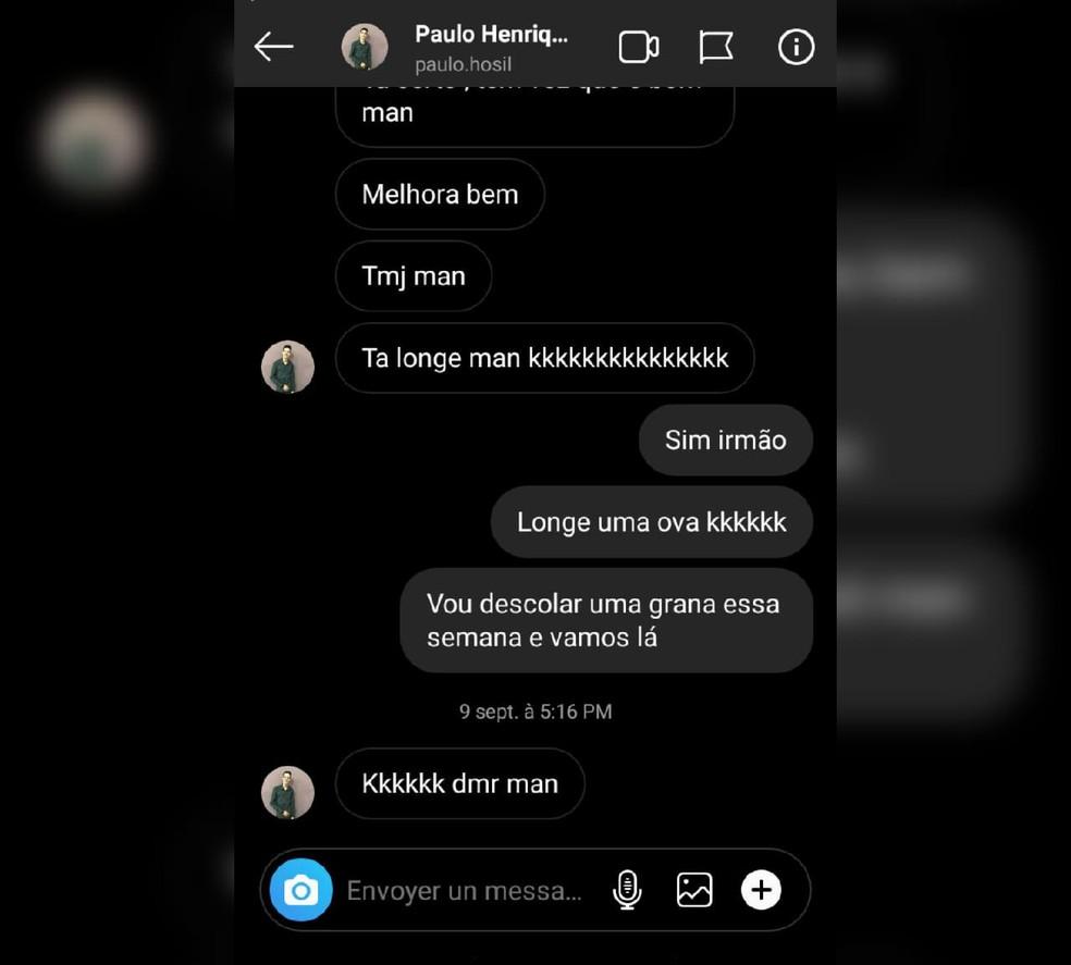 Wesley Soares Santos conversou com o amigo um dia antes de o perder para a Covid-19, em Jundiaí (SP) — Foto: Arquivo Pessoal