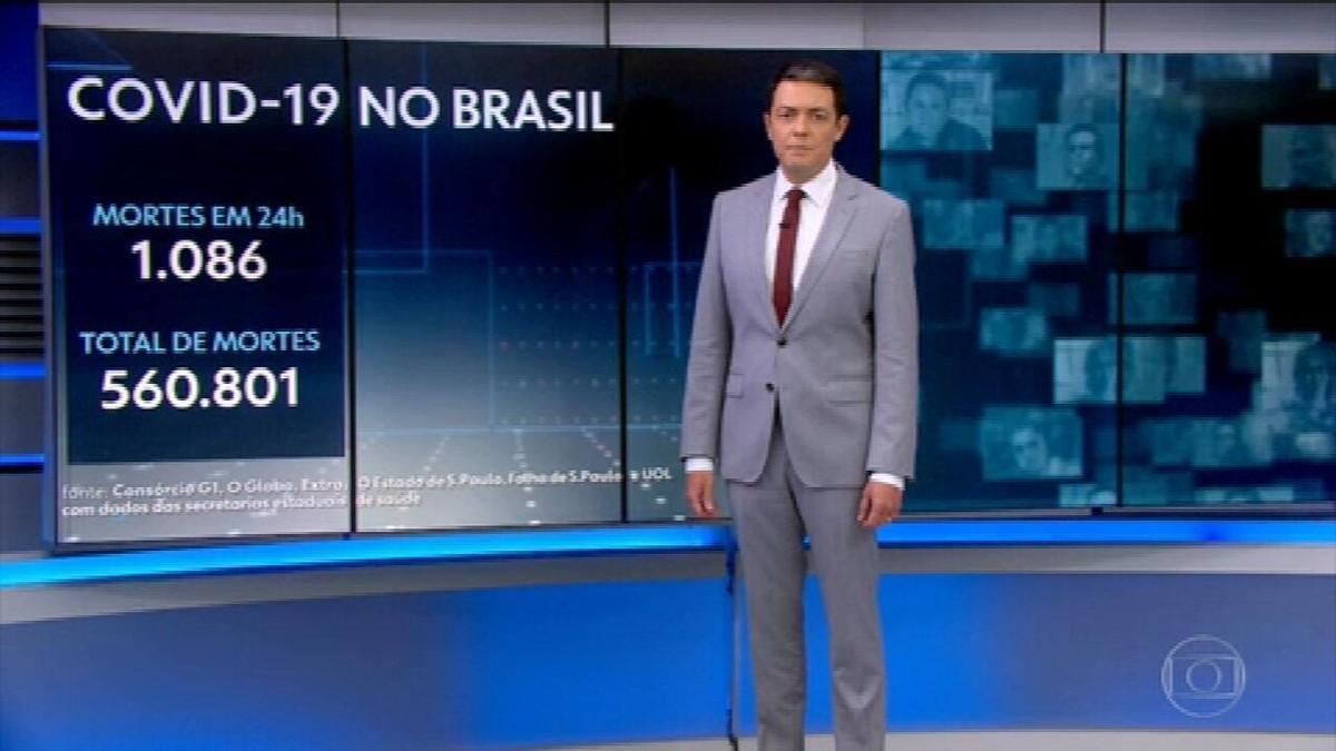 Brasil passa de 560 mil mortes por Covid