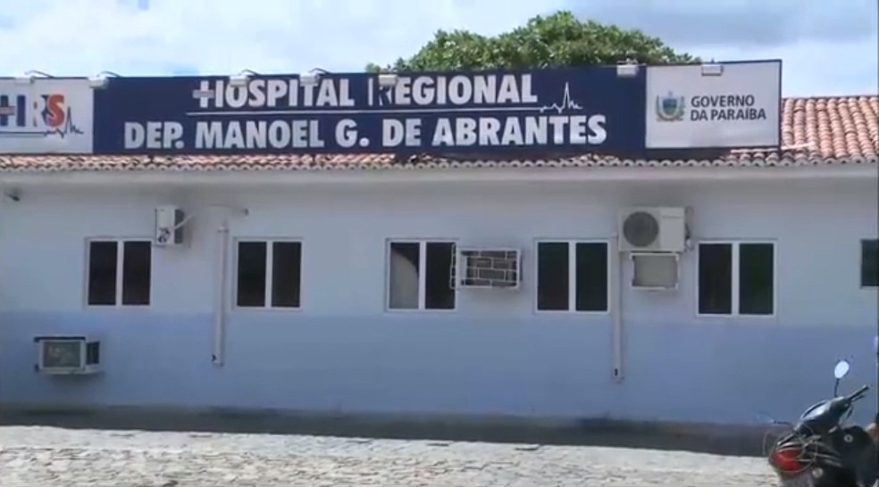 Hospital Regional de Sousa, Paraíba — Foto: Reprodução/TV Cabo Branco