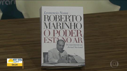 """""""Roberto Marinho: O poder está no ar"""", de Leonencio Nossa"""