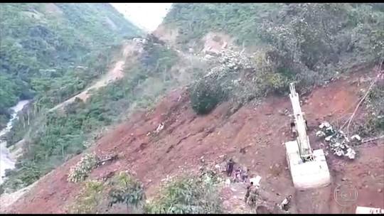Chuvas fortes provocam deslizamentos e deixam mortos na Bolívia