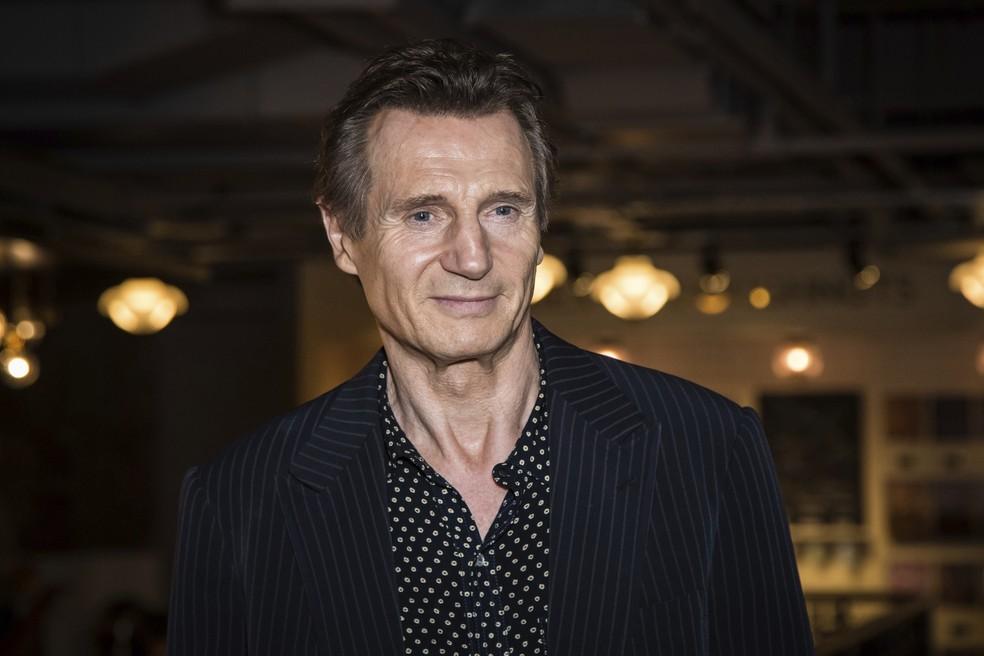 Ator Liam Neeson em foto de 2016 — Foto: Vianney Le Caer/AP