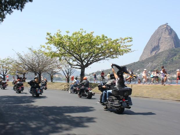 Harley-Davidson; Rio Harley; desfile; rio de janeiro (Foto: Rafael Miotto/G1)