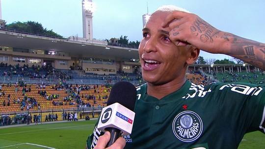 Gols pelo Palmeiras e coração para a arquibancada: o domingo perfeito de Deyverson