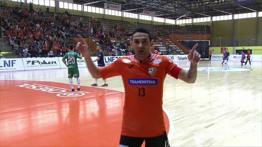 Carlos Barbosa segura Tubarão, vence novamente e avança às quartas da Liga  Nacional de Futsal