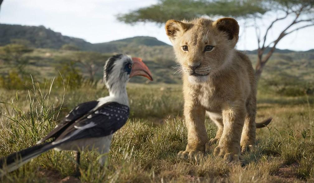 'O Rei Leão'  — Foto: Divulgação