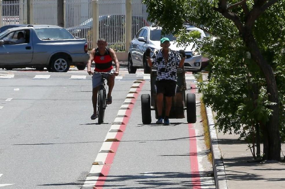 Catadores de lixo do Ceará terão direito a auxílio de R$ 261. — Foto: Natinho Rodrigues/Sistema Verdes Mares