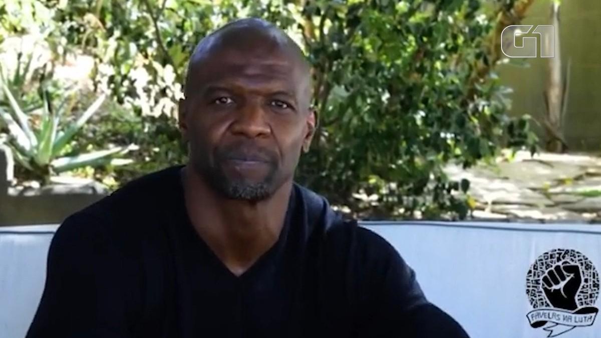 Terry Crews expressa solidariedade à família de João Pedro