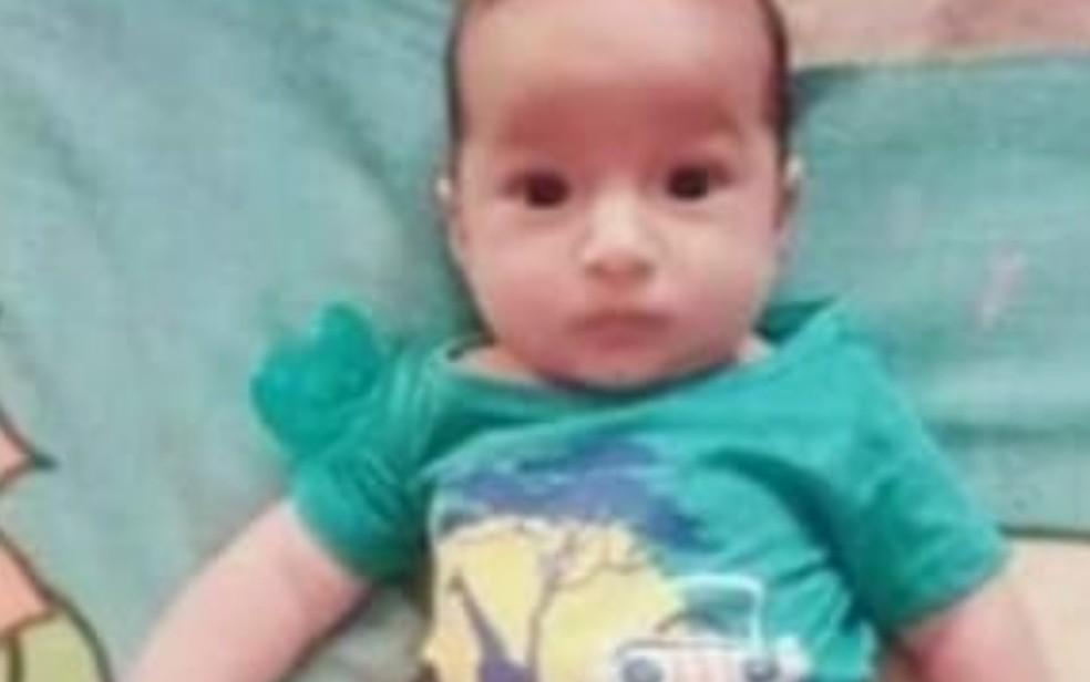 Gael Henrique do Nascimento Ribeiro, morto em Águas Lindas de Goiás — Foto: Reprodução/TV Anhanguera