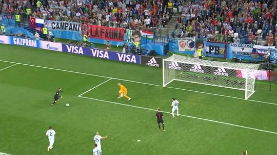 Torcedores querem a saída do goleiro Caballero após falha contra a Croácia