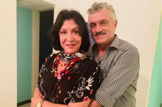 Werner Schünemann e Ítala Nandi (Foto: Divulgação)