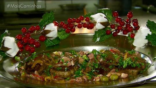'Histórias e Sabores' natalino: veja receita de filé mignon com molho de palmito