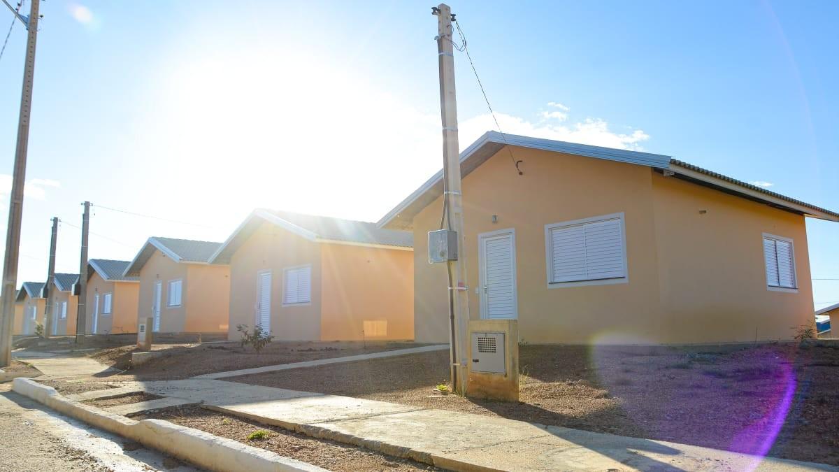 Casas do Recanto das Araras II serão entregues para 500 famílias selecionadas em Palmas