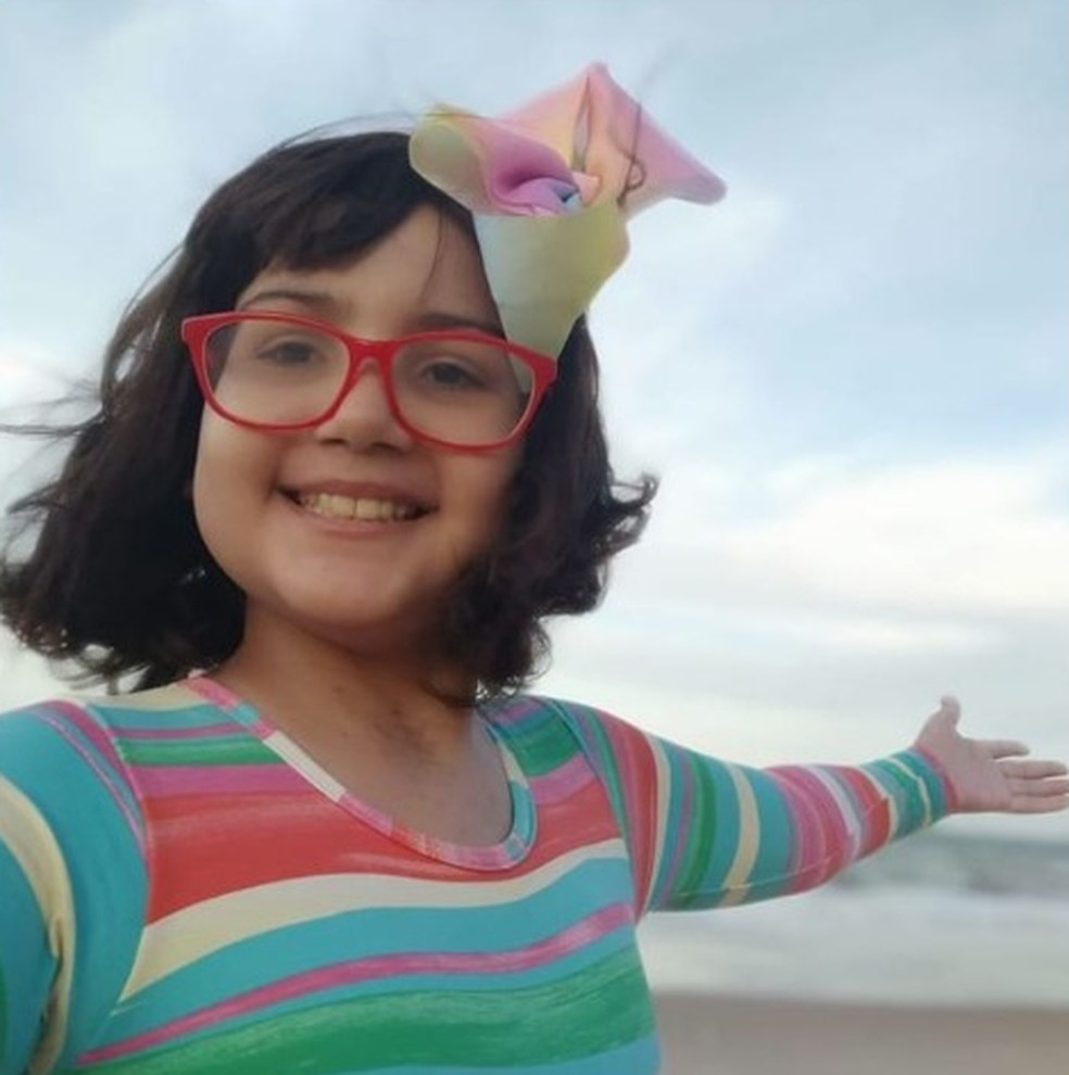 Família de menina de 11 anos com câncer faz campanha para pagar terapia genética nos EUA que custa R$ 3,5 milhões — Foto: Reprodução / Redes Sociais