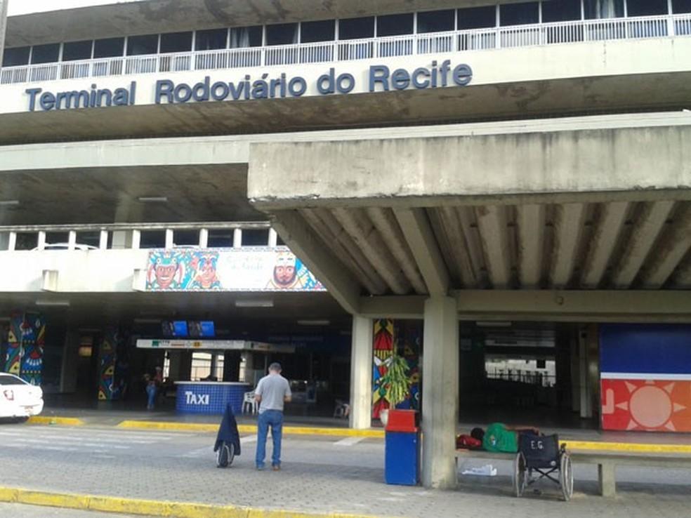 Terminal Integrado de Passageiros do Recife (TIP) terá aumento de 20% no movimento (Foto: Luna Markman/ G1)