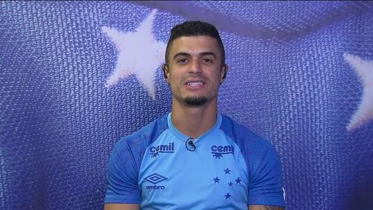 """Egídio, sobre melhora do Cruzeiro: """"Quando precisa, damos resposta positiva"""""""