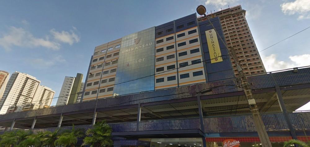 Unidade da Uninassau em Boa Viagem, na Zona Sul do Recife, recebe o evento, das 19h às 22h (Foto: Reprodução/Google Street View)