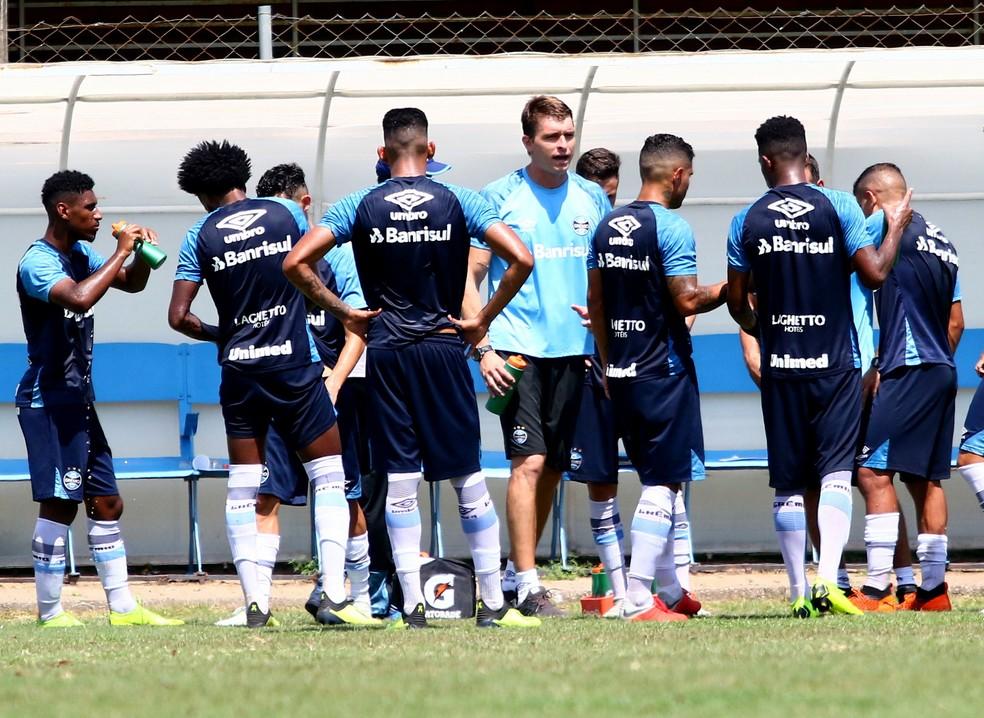 Grupo de Transição do Grêmio iniciará a disputa do Gauchão  — Foto: Rodrigo Fatturi/Grêmio
