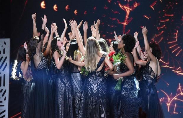 O Miss Brasil BE Emotion 2018 (Foto: Divulgação/Band)