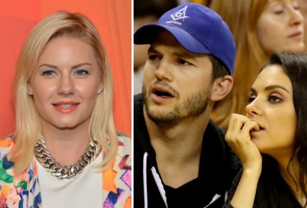 Elisha Cuthbert, Ashton Kutcher e Mila Kunis (Foto: Getty Images)