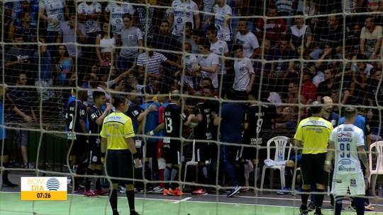 Dracena vence o Corinthians e fica a um empate das semifinais da Liga Paulista de Futsal