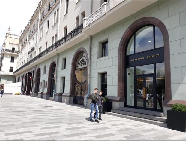A fachada da Alexander Terekhov (Foto: Pedro Carvalho)